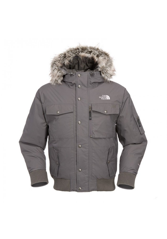 Manteau-Doudoune The North Face Gotham gris Graphite AAQF-0M8