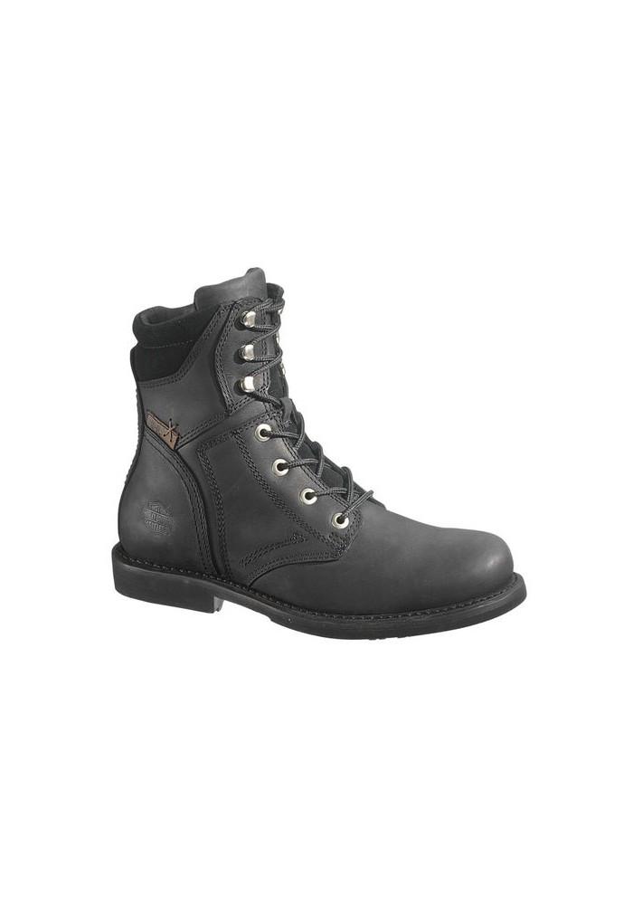 Bottes Harley Davidson Darnel en cuir noir pour hommes D94284