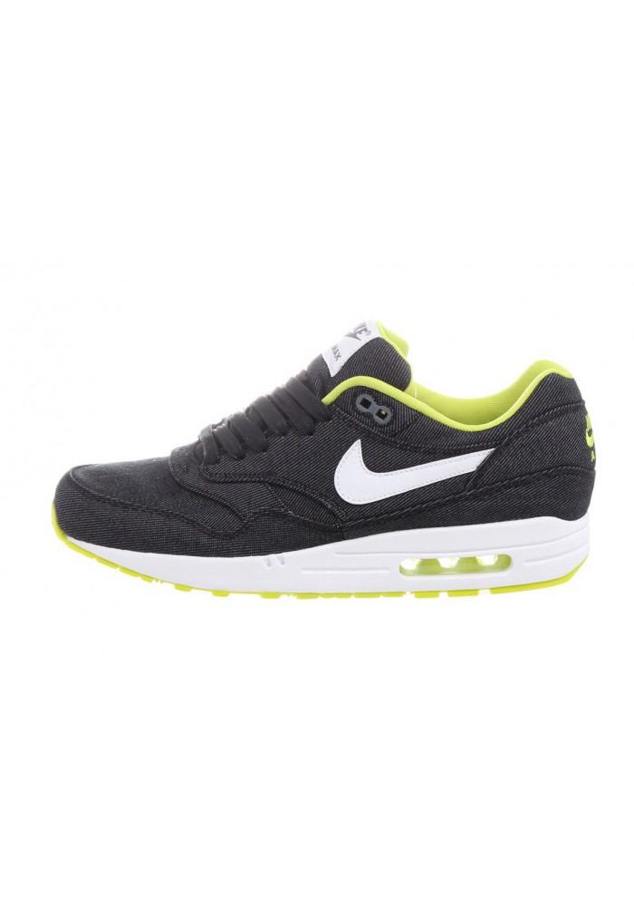 Nike Air Max 1 Premium Denim 512033-019 Basket Homme