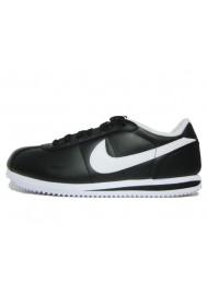 Cortez de Nike en Cuir Noir Ref: 316418-012 Basket Homme