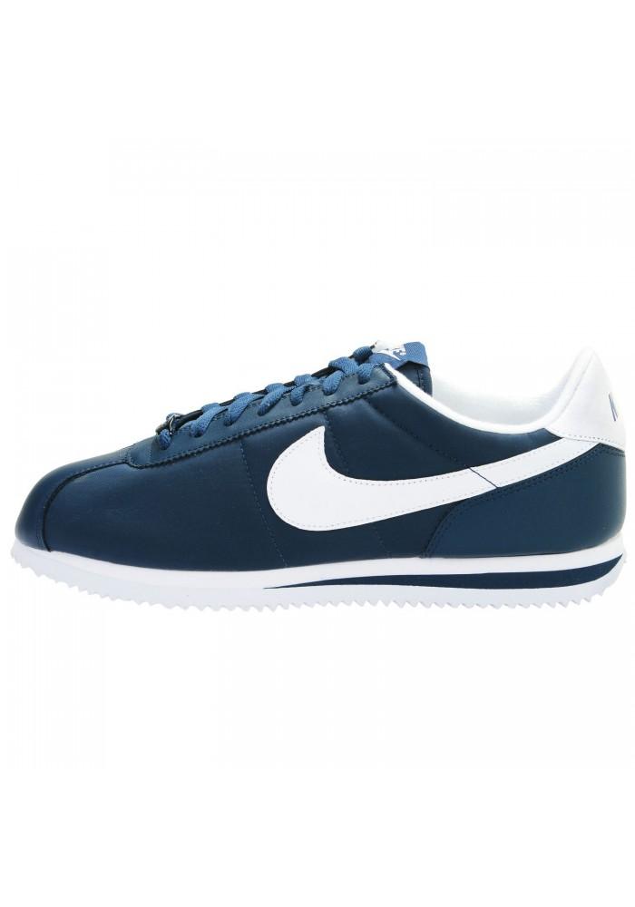 grossiste 0638e 21a64 Basket Nike Cortez Nylon Bleu (Ref : 476716-411) Hommes Running