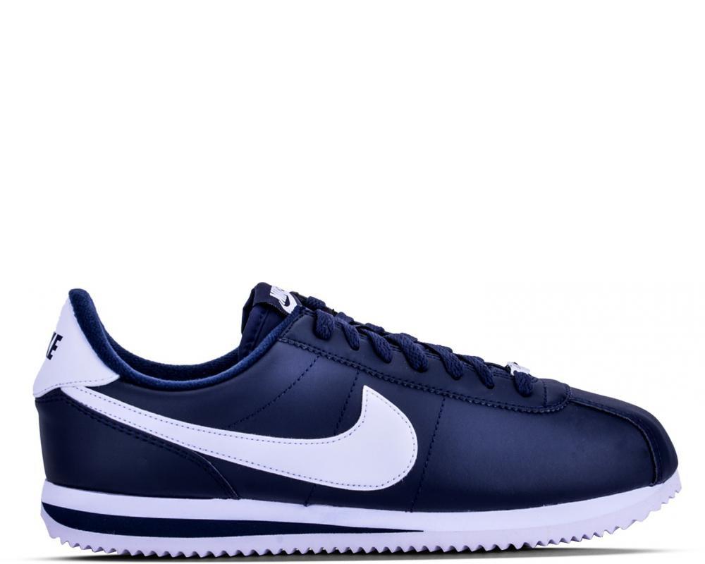 Cortez de Nike en Cuir Bleu Ref: 819719-410 Running Homme