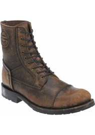 Bottes Harley-Davidson Homme Black Label Tallsman Marron Motorcycle D99902