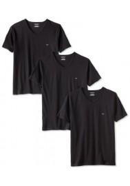 Emporio Armani Hommes Lot de 3 T-Shirt col V Regular Fit
