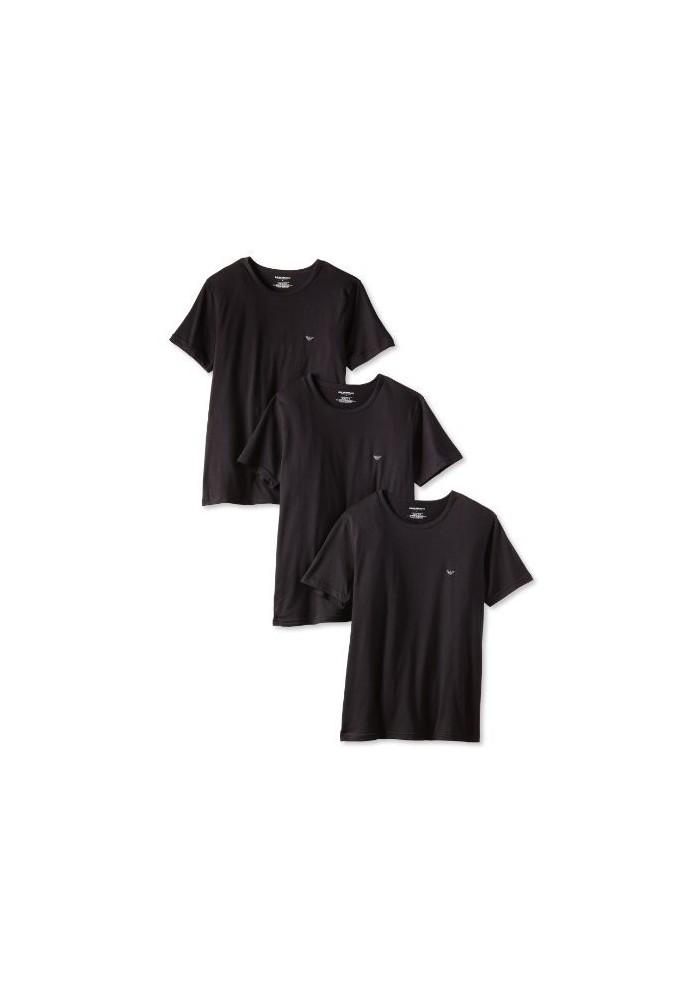 Emporio Armani Hommes Lot de 3 T-Shirt col Rond