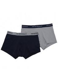 Emporio Armani Hommes Pack de 2 Boxer en Coton