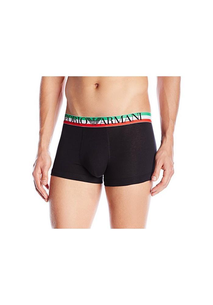 Emporio Armani Hommes Boxer Italian Logo Coton Stretch