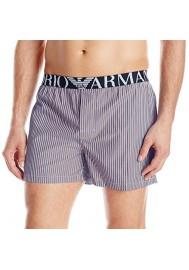 Emporio Armani Hommes Boxer Yarn Dye Woven