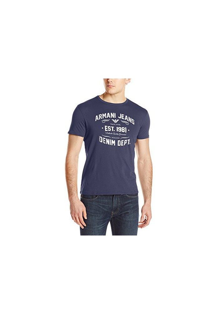Armani Jeans Hommes Jersey Polo Regular Fit