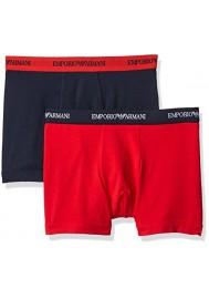 Emporio Armani Hommes Lot de 2 Boxer en Coton Stretch