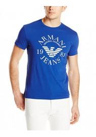 Armani Jeans Hommes T-Shirt Slim Fit Logo