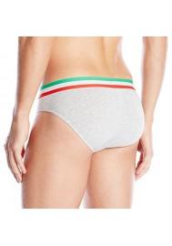 Emporio Armani Hommes Italian Logo Coton Stretch Slip