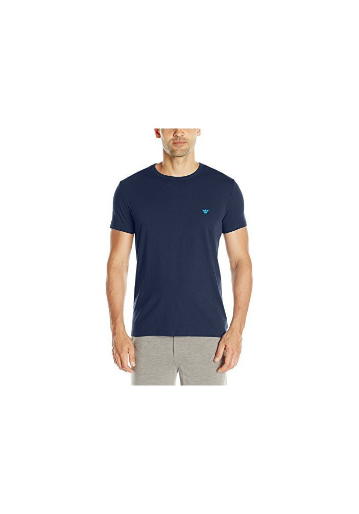 Emporio Armani Hommes Hidden Print T-Shirt col Rond