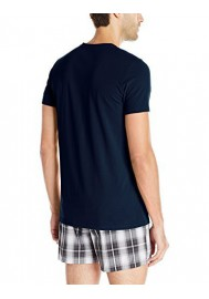 Emporio Armani Hommes Stretch Coton Eagle Logo T-Shirt col Rond