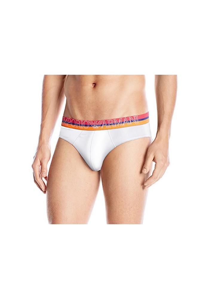 Emporio Armani Hommes Basic Rainbow Coton Stretch Slip