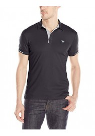 Armani Jeans Hommes Slim Fit Interlock Polo