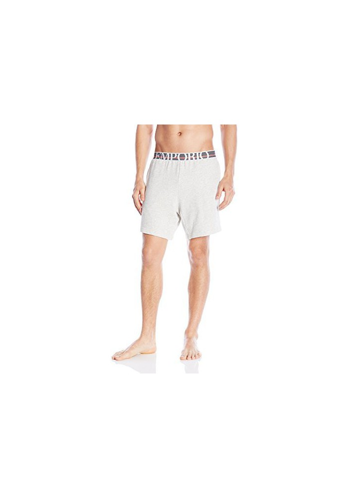 Emporio Armani Hommes Retro Eagle French Terry Bermuda Short