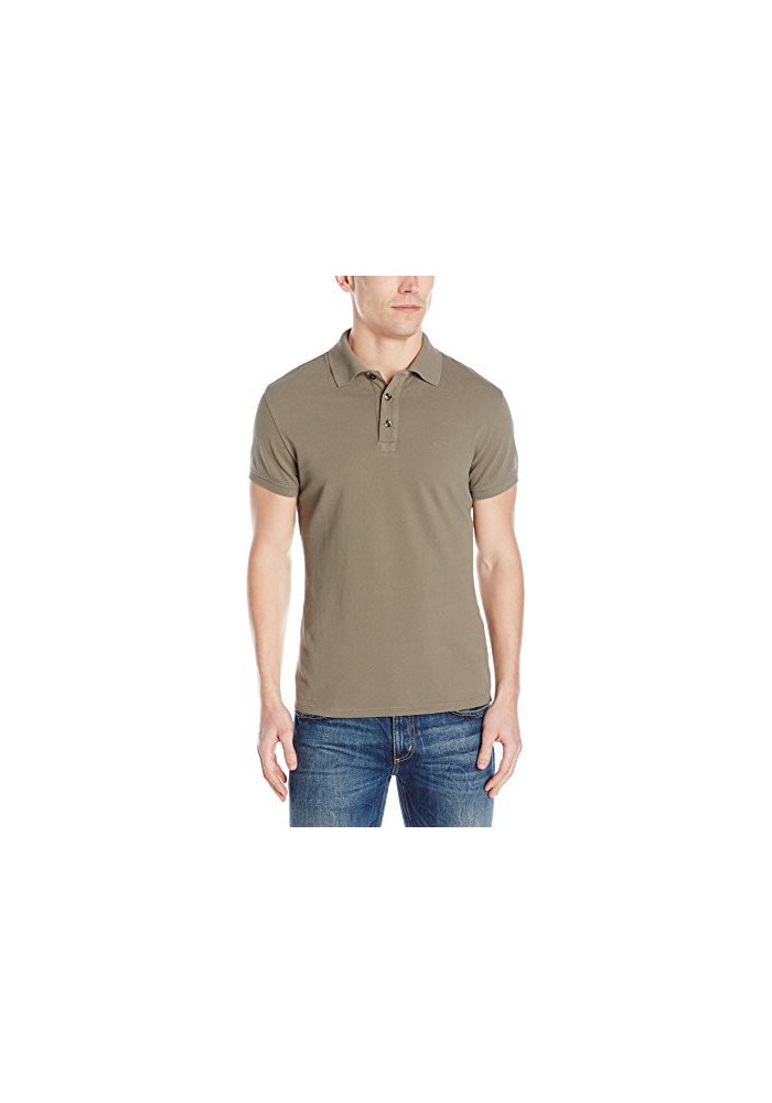 Armani Jeans Hommes Regular Fit Pique Polo