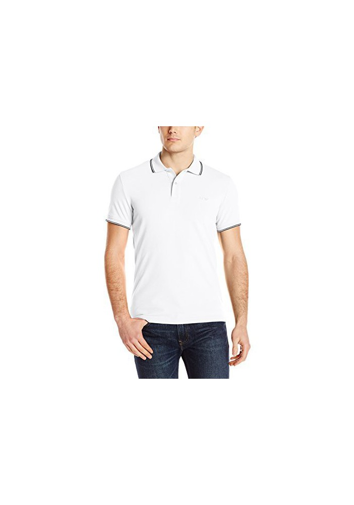 Armani Jeans Hommes Modern Fit Pique Polo