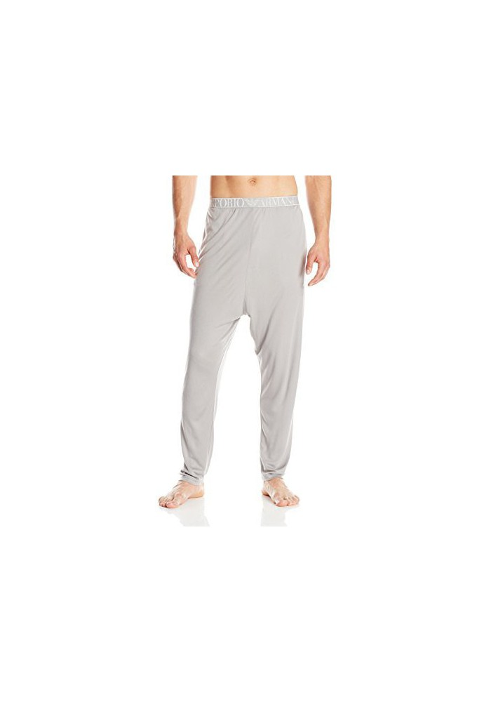 Emporio Armani Hommes Soft Interlock Lounge Pantalon