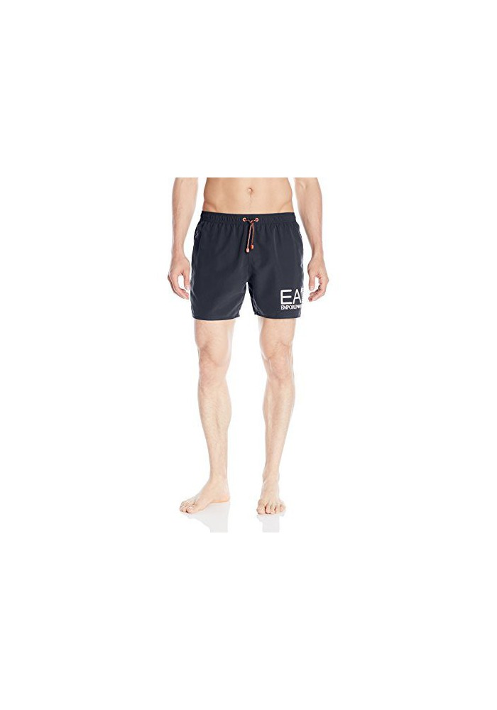 Emporio Armani Hommes Big Logo Bright Sea World Swim Short