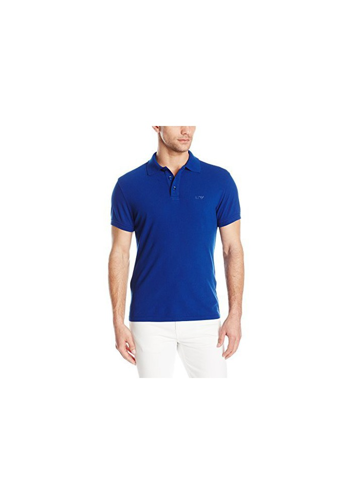 Pique Polo Regular Fit Armani Jeans Homme