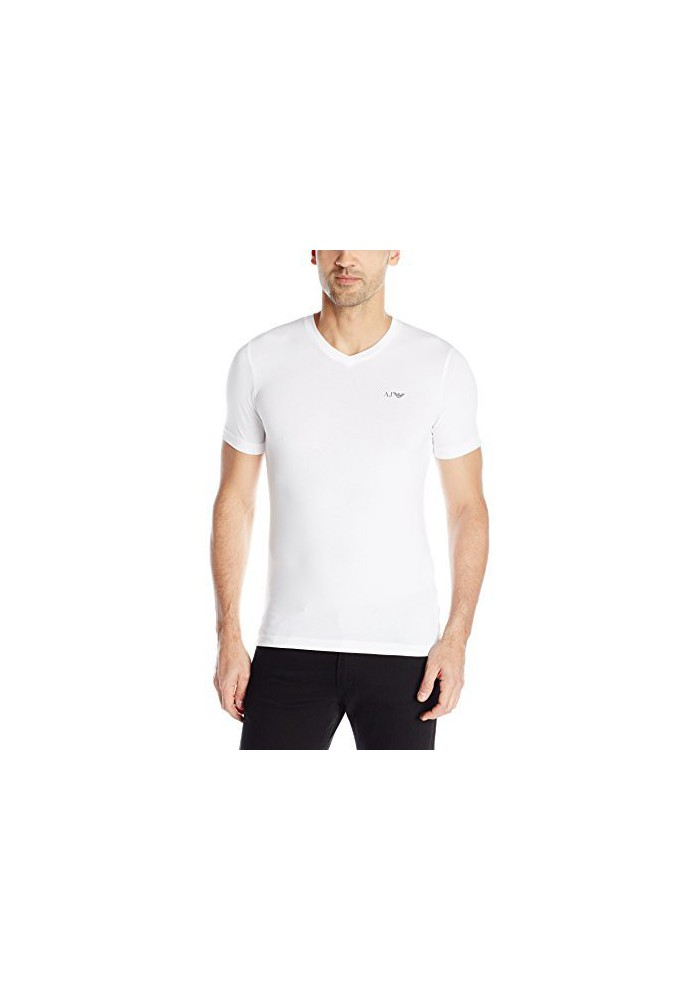 Armani Jeans Hommes Extra Slim-Fit T-Shirt col en V