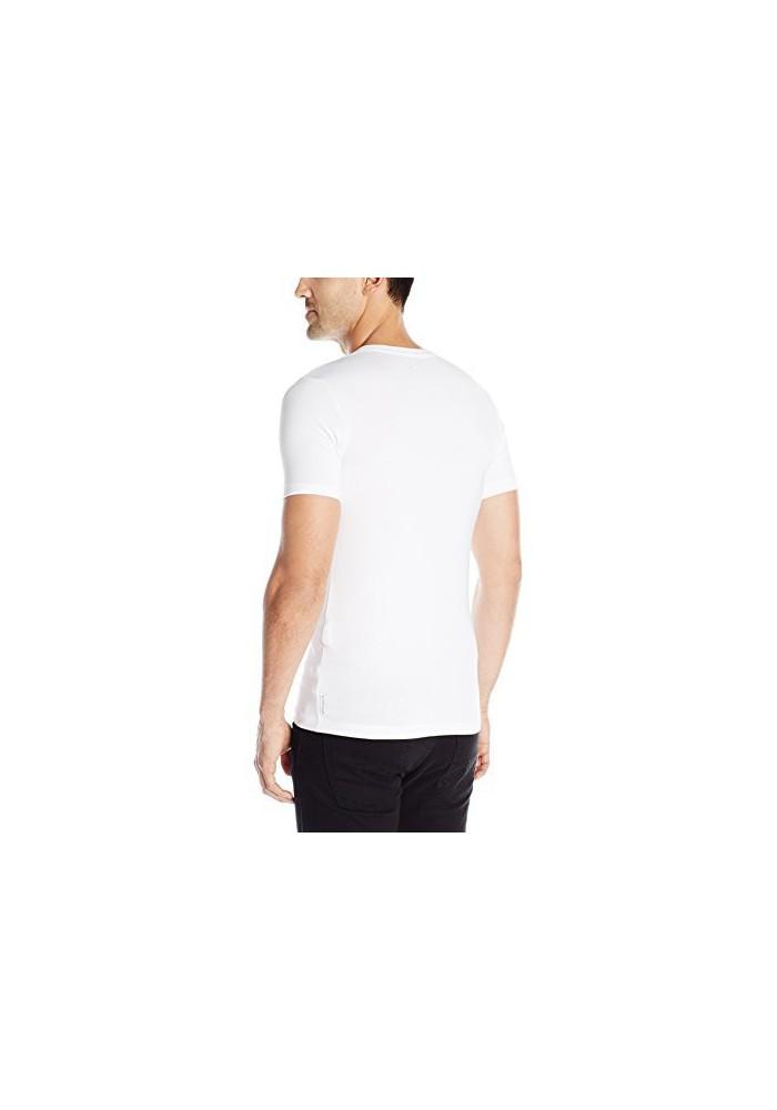 Extra T Shirt Hommes En Slim Armani Jeans V Fit Col Nv80Oynwm