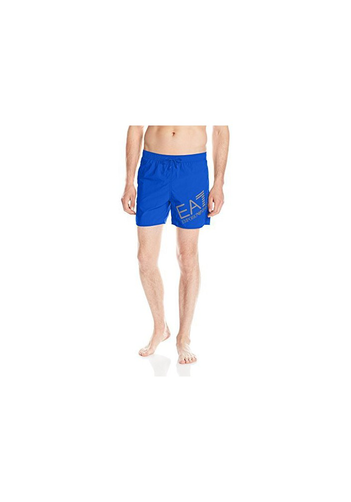 Emporio Armani Hommes Big Logo Sea World Swim Short