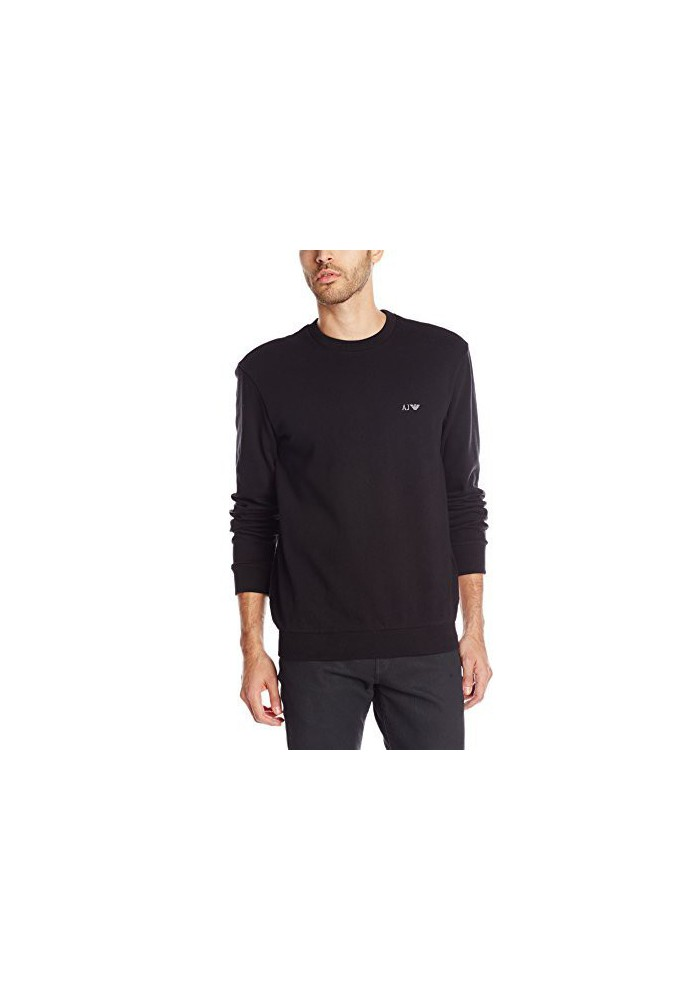Armani Jeans Hommes Brushed Fleece Sweatshirt Coton