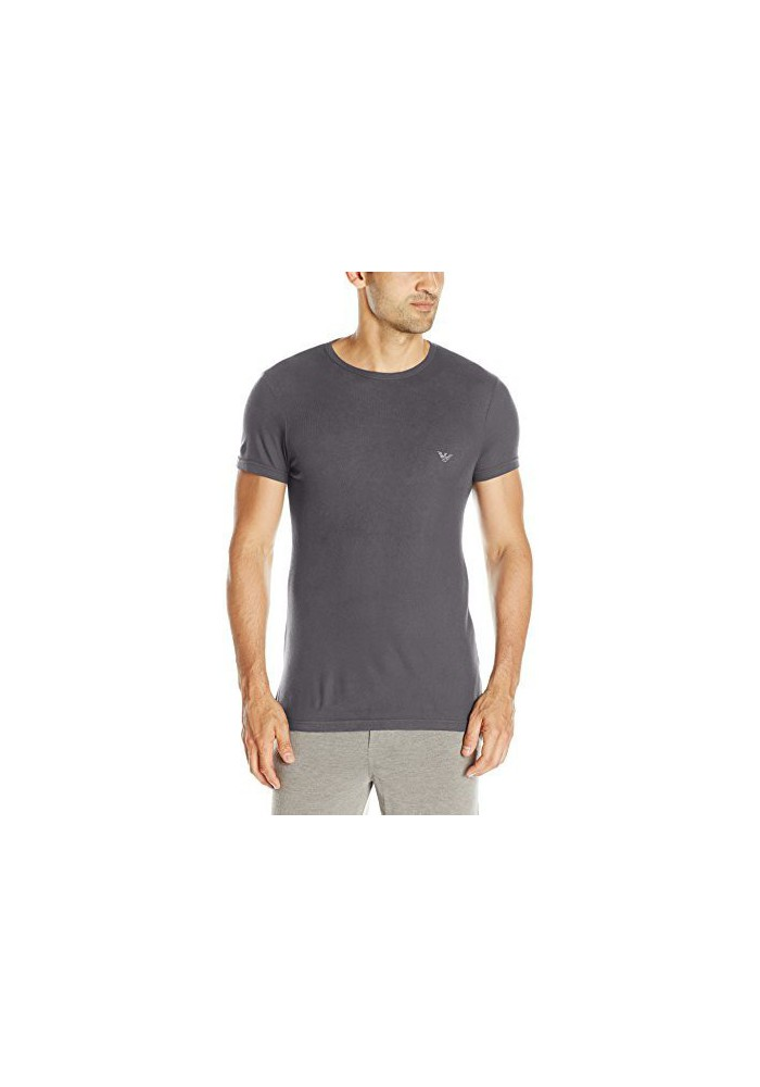 Emporio Armani Hommes Viscose T-Shirt col Rond