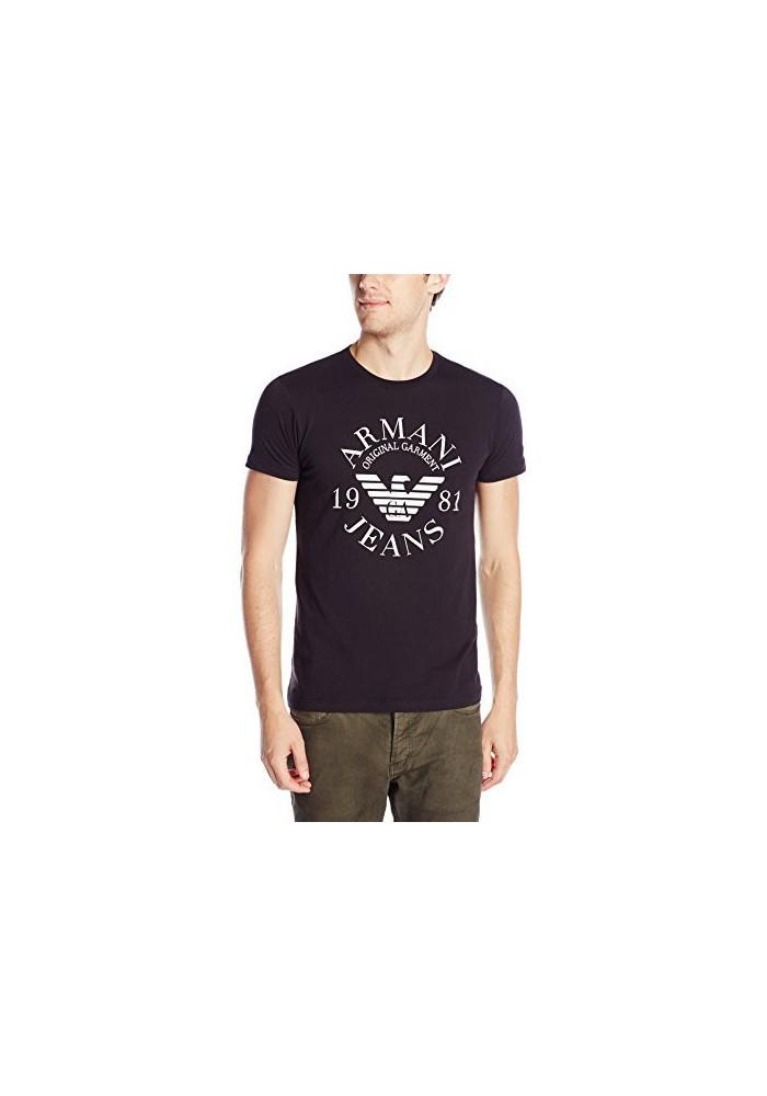 Armani Jeans Hommes Slim Fit Logo T-Shirt