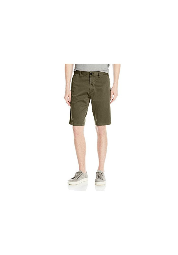 Armani Jeans Hommes Pigment Dyed Flat Front Short