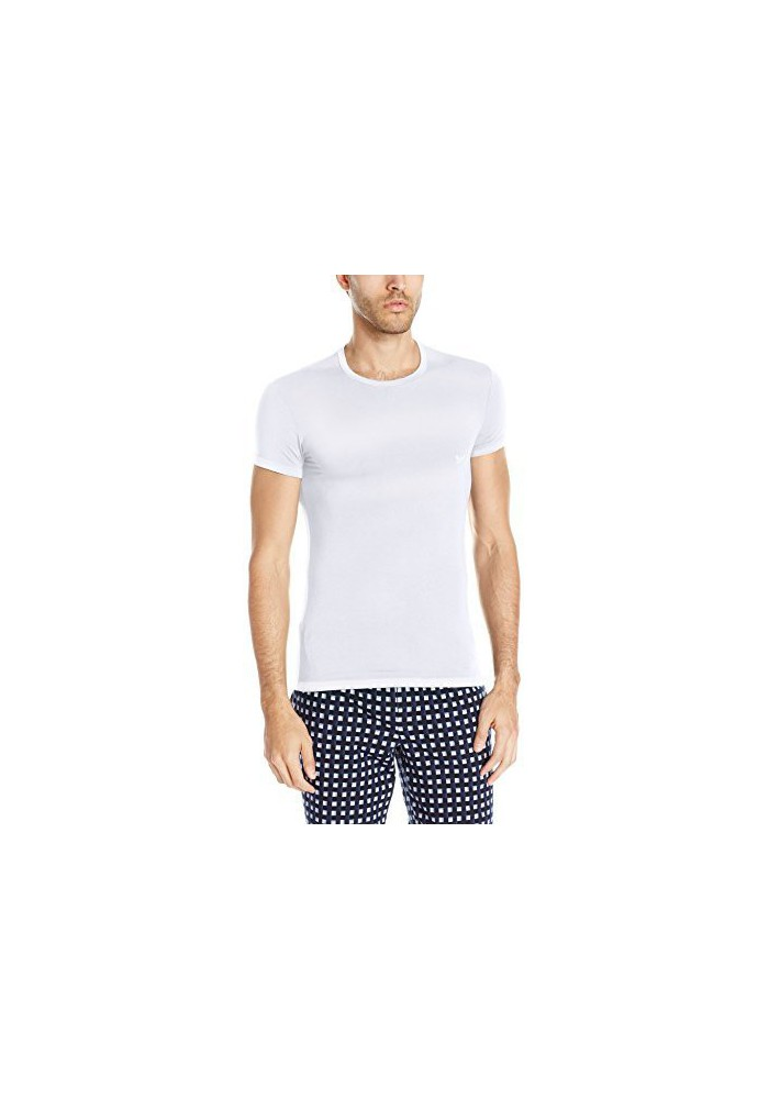 Emporio Armani Hommes Stretch Modal T-Shirt col Rond