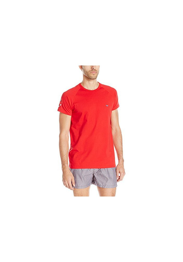 Emporio Armani Hommes Tattoo Inspired T-Shirt col Rond