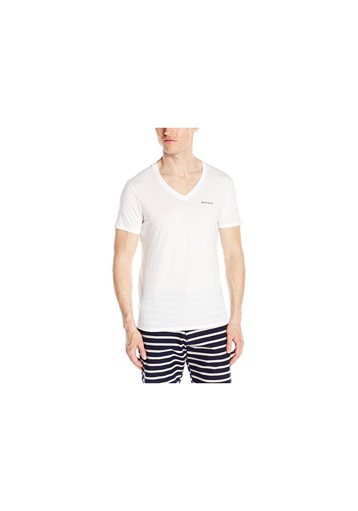 Armani Jeans Hommes T-Shirt col V Regular Fit