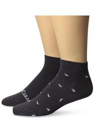 Emporio Armani Hommes Basics Stretch Coton Pack de 2 paires chaussettes