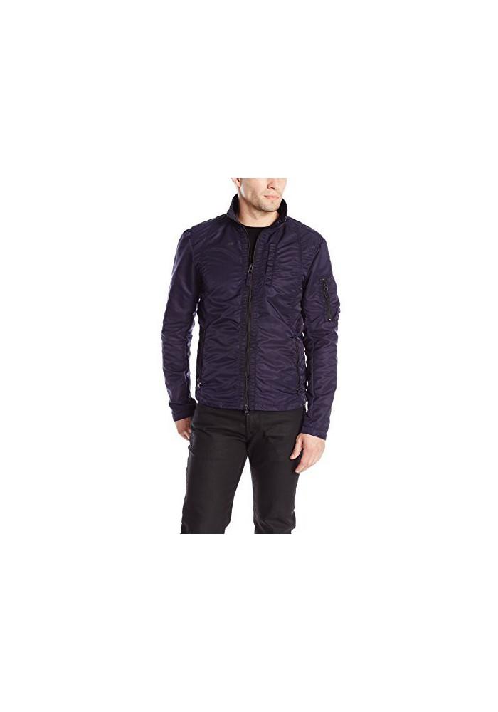 Armani Jeans Hommes Nylon Zip Veste