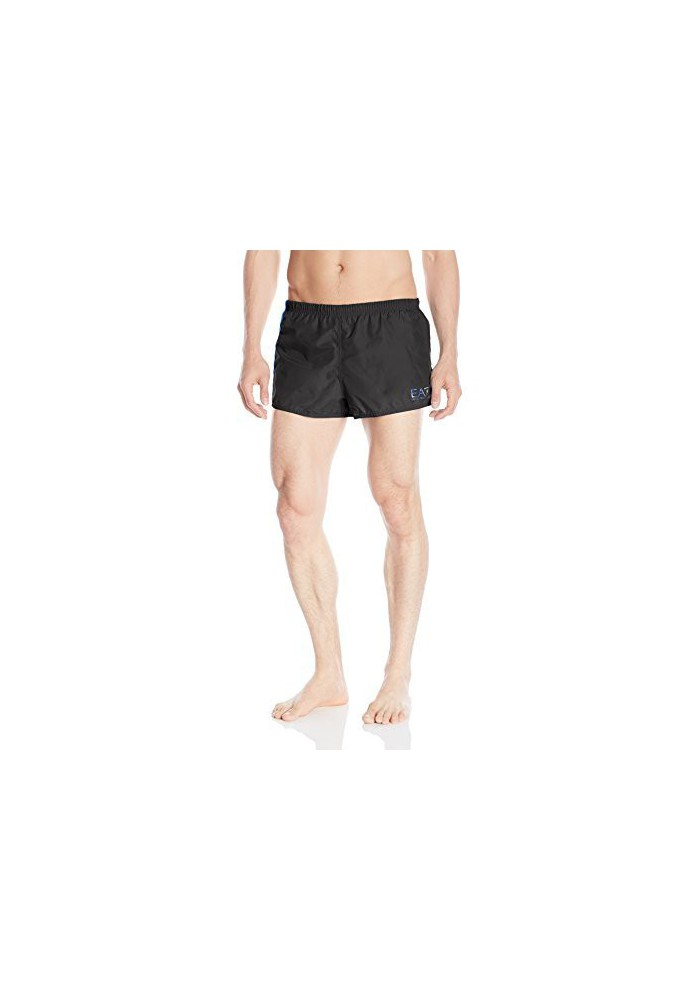 Emporio Armani Hommes Block Sea World Graphic Swim Short