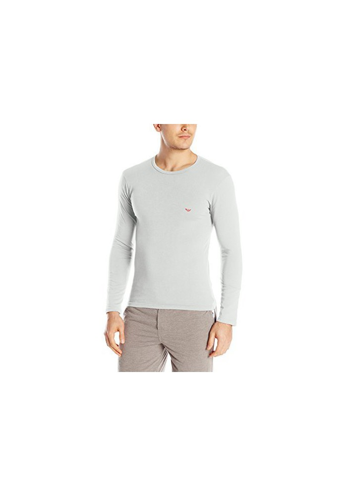 Emporio Armani Hommes T-shirt Col Rond Lounge