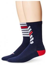 Emporio Armani Hommes Fancy Coton Pack de 2 paires de chaussettes