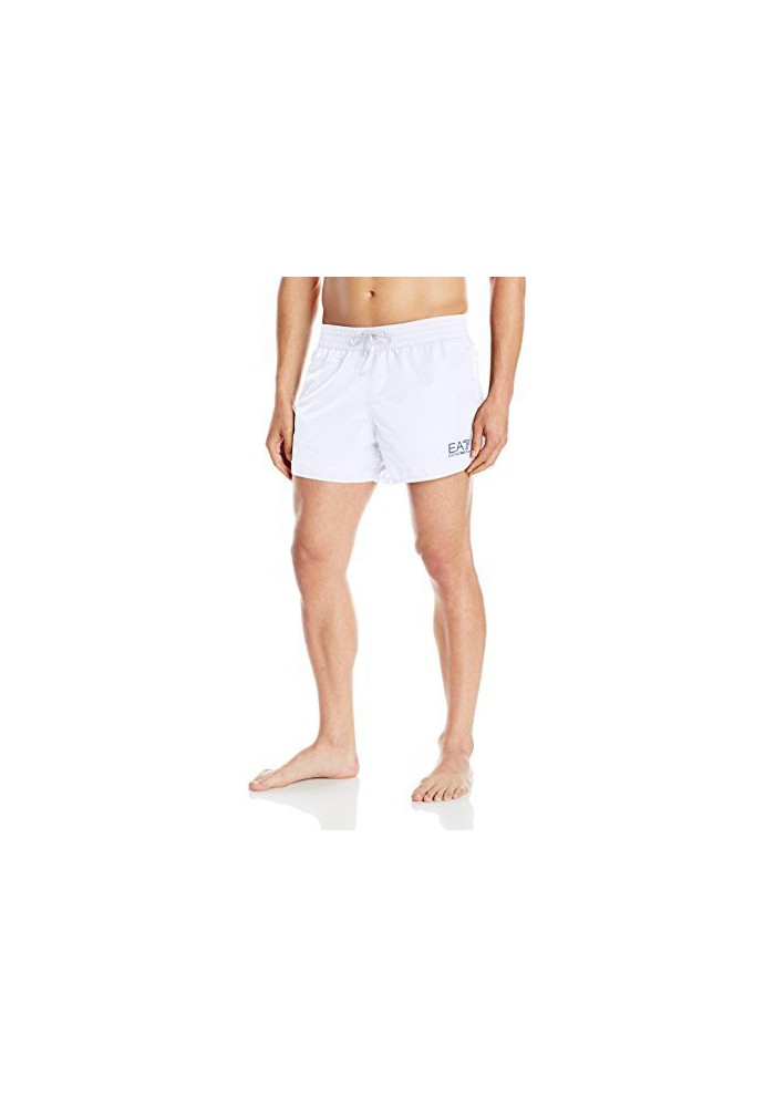 Emporio Armani Hommes Shiny Fashion Sea World Core Swim Short