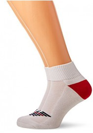Pack de 2 paires de chaussettes Emporio Armani Hommes Fancy Sponge en Coton