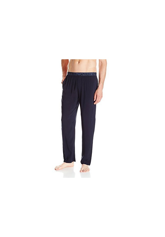 Emporio Armani Hommes Tonal Collection Viscose Pyjama Pantalons