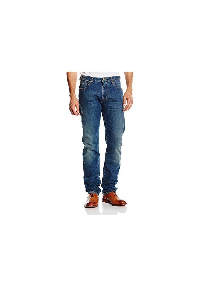 Armani Jeans Hommes Slim Fit Straight Leg Confort Stretch Jeans,Denim