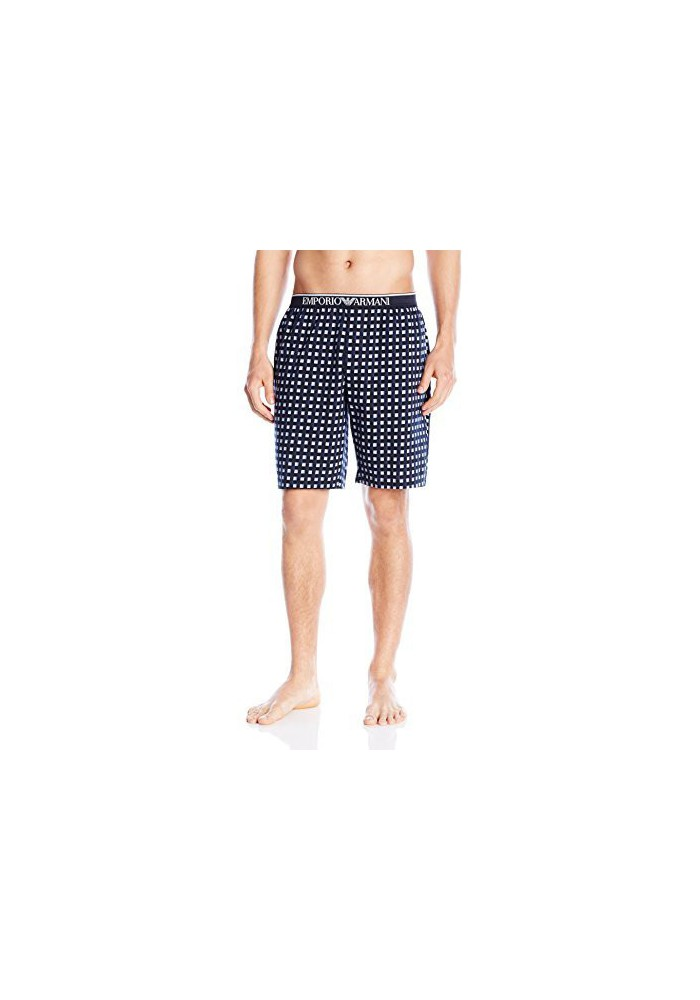 Emporio Armani Hommes Pattern Mix Sleep Short