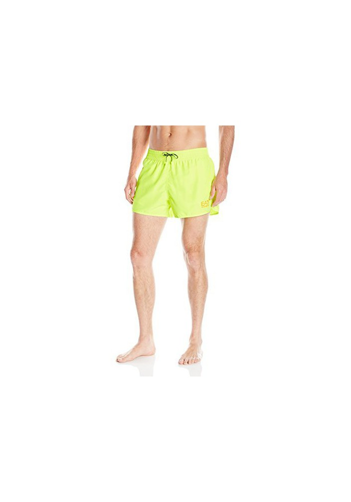 Emporio Armani Hommes Bright Sea World Swim Short