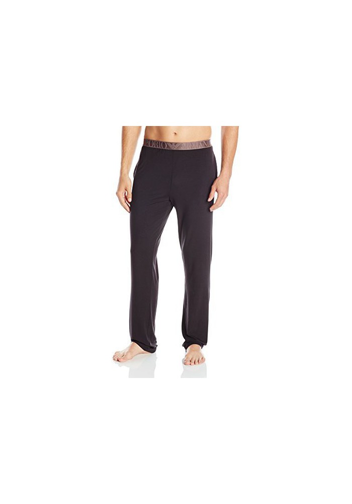 Emporio Armani Hommes Shiny Elastic Band Modal Lounge Pantalons