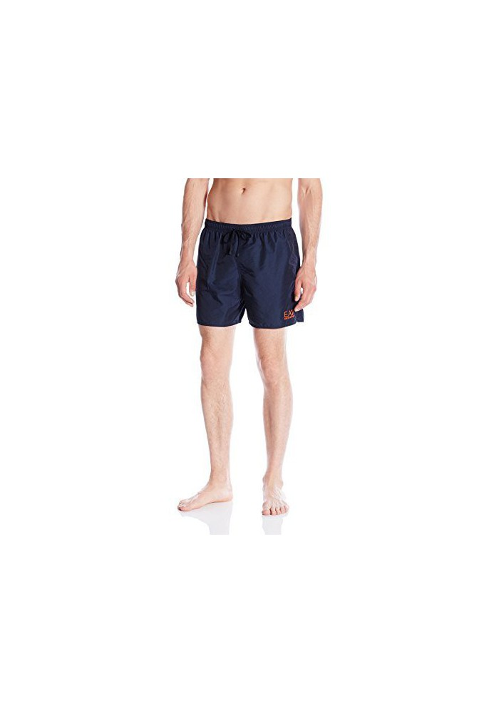 Emporio Armani Hommes Shiny Fashion Sea World Swim Short