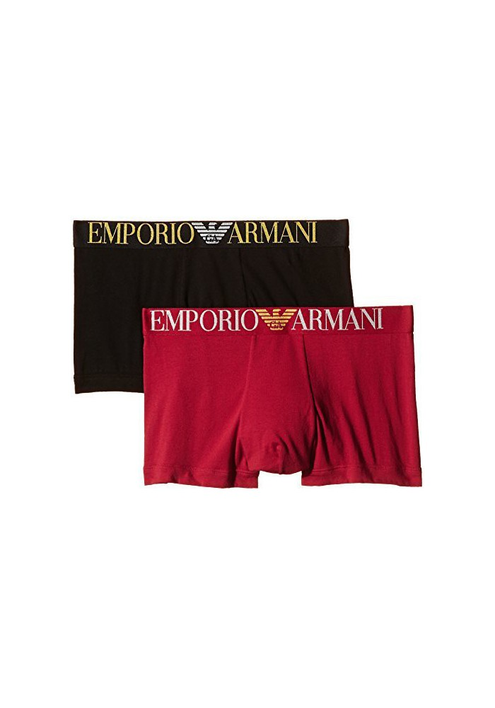 Emporio Armani Hommes Flash Dual Tone Boxer (Pack de 2)